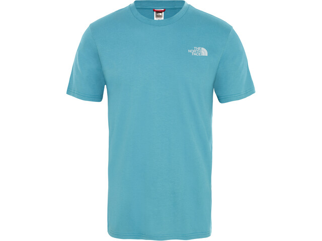 The North Face Simple Dome Camiseta Manga Corta Hombre, storm blue